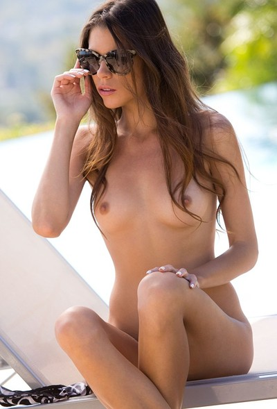 Valeria in Displays Her Perfect Body On The Poolside from Digital Desire