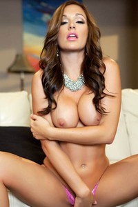 Incredible brunette beauty Destiny Dixon showcases her amazing curvy body