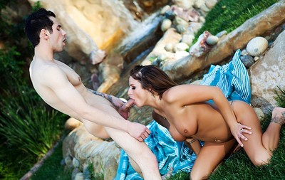 Brooke Belle in Babbling Brook from Penthouse