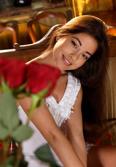 Lorena B in Reale from Met Art