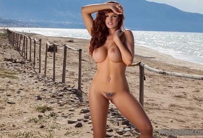Tommi Jo in Along The Beach from Photodromm