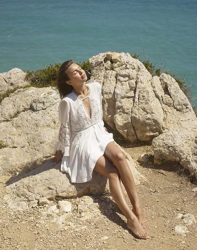 Daniela in Beauty On The Cliff from Hegre Art
