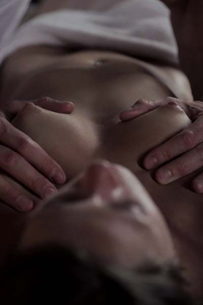 After a hot massage Kirsten Lee wants some banging