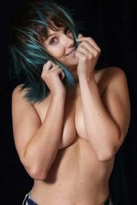 Gorgeous Mellisa Clarke making faces