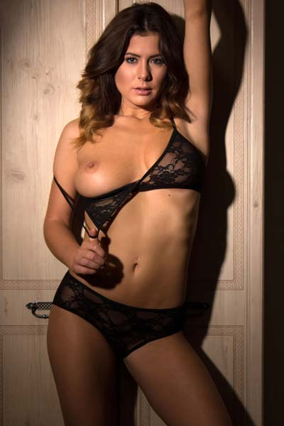 Kelly Hall in Sexy Wardrobe