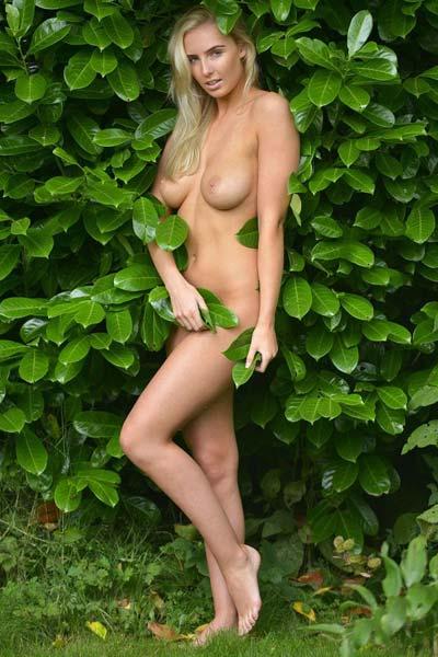 Lissy Cunningham in Maid In Eden