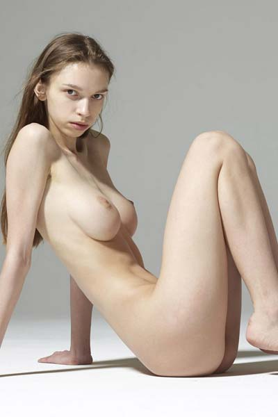 Aya Beshen bares her big round boobs