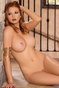 Playboy Bombshell with stunning curves Chandler South teases sensually