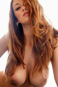 Playboy Leanna Decker gives us a good look at her amazing big boobs and sexy body