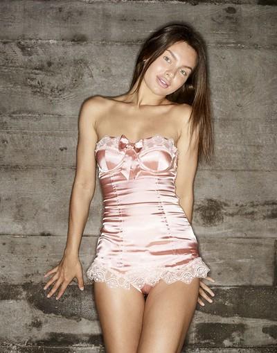 Daniela in Pink Corset from Hegre Art