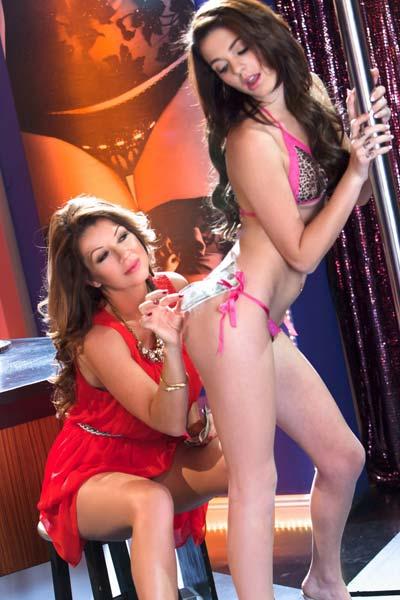 Smoking hot busty lesbians Kiera Winters and Raquel Devine pleasure each other