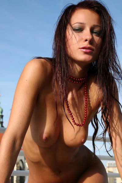 As always the hot babe Melisa mesmerizes with her astonishing naked body