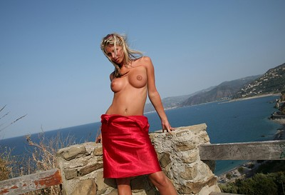 Gina in Red Skirt from Photodromm