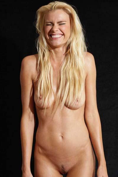 Amazing blonde Mija is a long legged hearth break