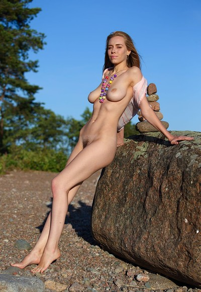 Shirley in Beauty On A Stone from Stunning 18