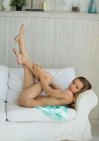 Agnes in Girl In The Turquoise from Stunning 18