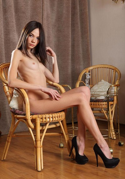 Julia P in Tan Lines from Stunning 18