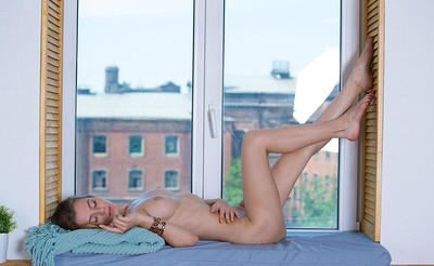 Agnes in Bed On The Window Sill from Stunning 18