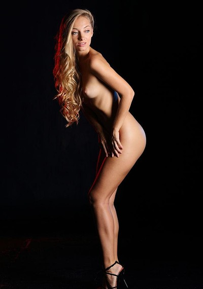 Ellison G in Blond Curls from Stunning 18