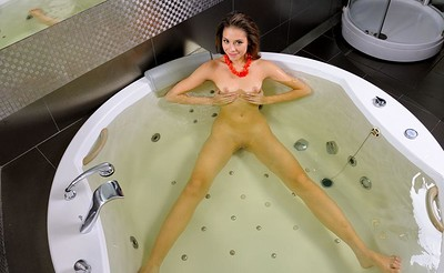 Cassandra in Bathe Time from Stunning 18