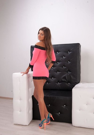 Melena A in Throne from Stunning 18