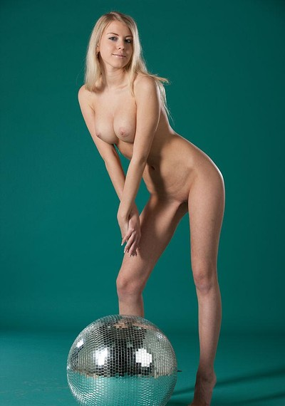 Barbara D in Mirror Ball from Stunning 18