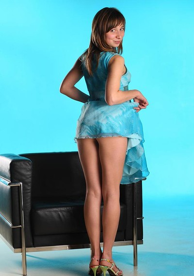 Jenny D in Azure from Stunning 18