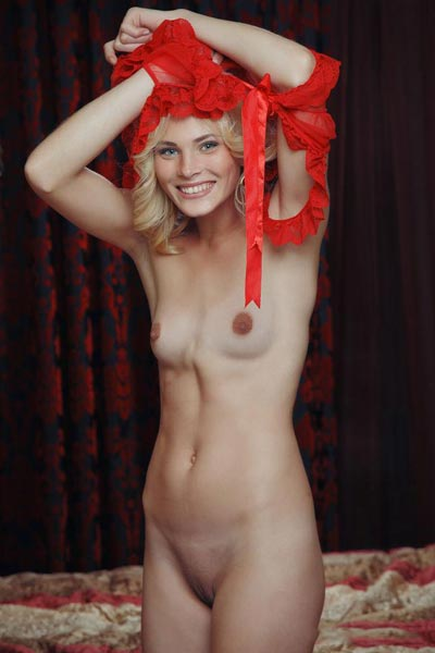 Cordella A takes a stroll then gets naked back in her room