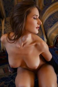 Gorgeous Elina tastes her own fingers after sliding them deep inside herself