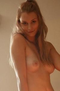 Payton Demilo looks through the fridge in her sexy bra and panties