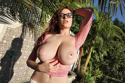 Tessa Fowler in Magic Hour from Pinup Files