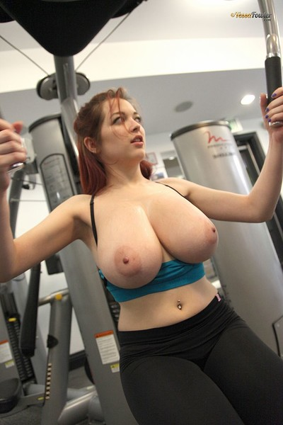 Tessa Fowler in Diary Day Day Morning Workout Set 2 from Pinup Files
