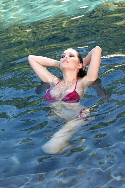 Tessa Fowler in Wet from Pinup Files