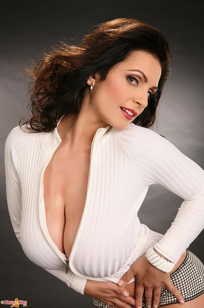 Denise Milani in  from Pinup Files