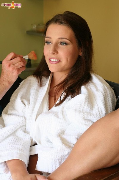 Erica Campbell in Behind-The-Scenes from Pinup Files