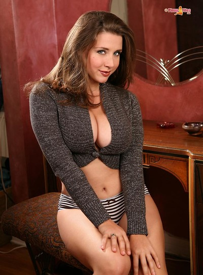 Erica Campbell in Huge 34 Dd from Pinup Files