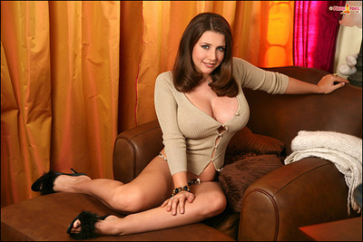 Erica Campbell in Perfect Busty Big Boobs from Pinup Files