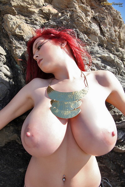 Tessa Fowler in Topless Gold 1Gold from Pinup Files