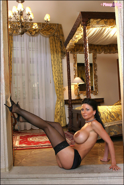 Veronika Zemanova in  from Pinup Files