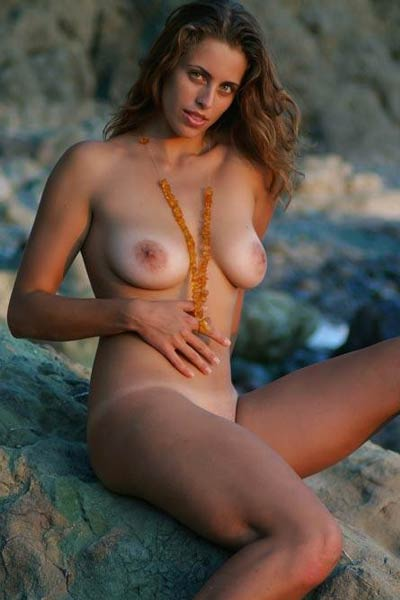 All natural angel Romashka shows her attractive young body