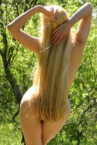 Fantastic model Diana nude and naughty
