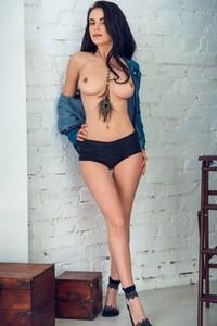 Blossoming young Alex Lynn Model Mirela nude in Denim