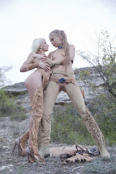 Milena D and Nika N in Adventure from Viv Thomas