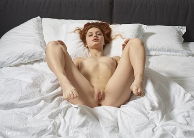 Clarice in Session In Bed from Hegre Art