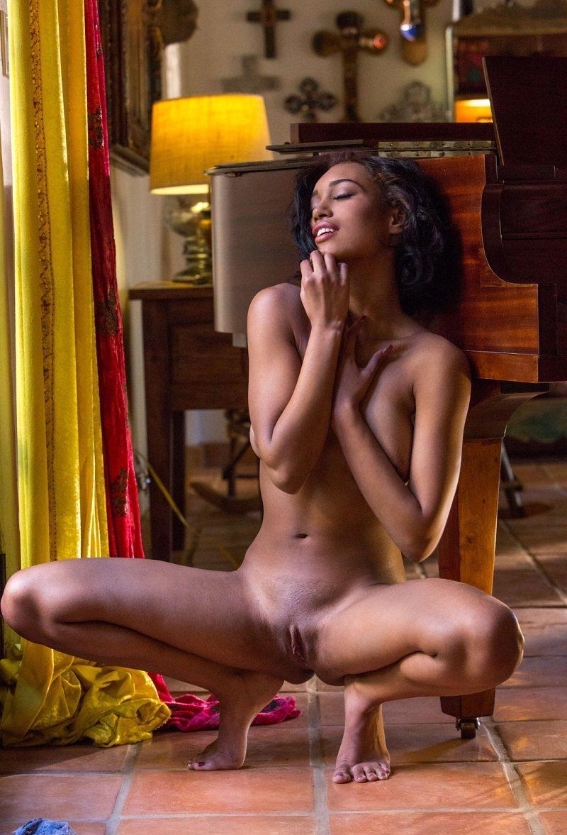 Stunning ebony beauty noelle monique