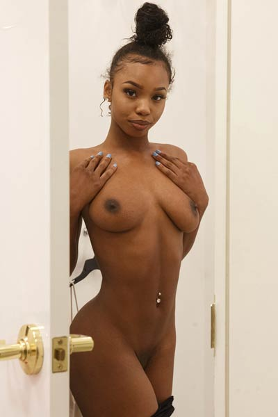 Do you have some free time to do shopping with this amazing ebony hottie
