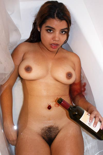 First this cute big titted chick trains hard then gets wild with a glass of wine