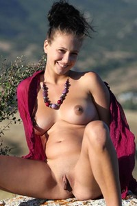 Her yummy vag and meaty long clitoris are the best sexual assets