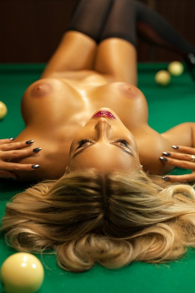 Maria in Billiard Balls 2 from Photodromm