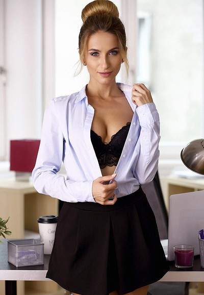 Cara Mell in The Office Girl from MPL Studios
